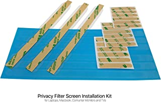 3M Privacy Screen Filter Adhesive and Slide Mount tabs Replacement kit for Laptop, MacBook and Computer Monitors.
