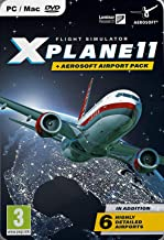 X Plane 11 Global with Aerosoft 6 Airport Collection PC DVD