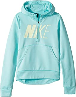 23afbe33553a Nike kids therma full zip hoodie little kids big kids rio teal ...