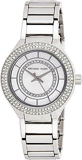 ساعة كوارتز للنساء من مايكل كورس، عرض انالوج وسوار من الاستانلس ستيل، MK3800