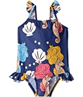mini rodini - Seahorse Wing Swimsuit (Infant/Toddler/Little Kids/Big Kids)