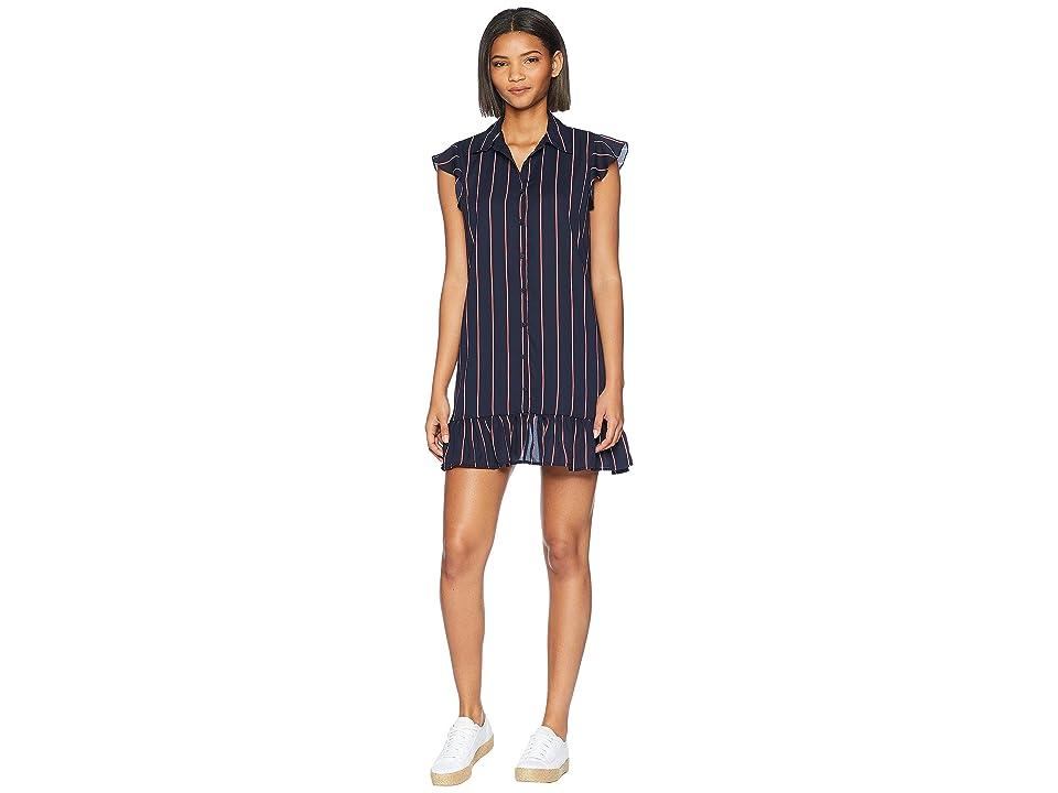 BB Dakota - BB Dakota American Pie Striped Shirtdress