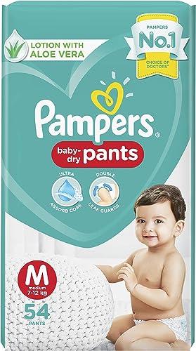 Pampers Diaper Pants, Medium, 54 Count