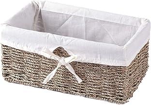 Vintiquewise Shelf Basket, Natural, 1 Pack