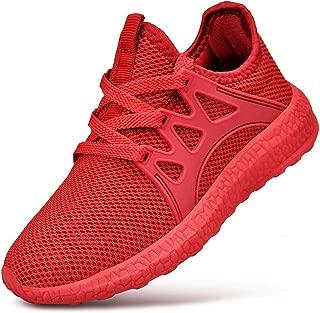 Kids Sneakers Non Slip Mesh Breathable Athletic Running Walking Tennis Shoes for Boys Girls
