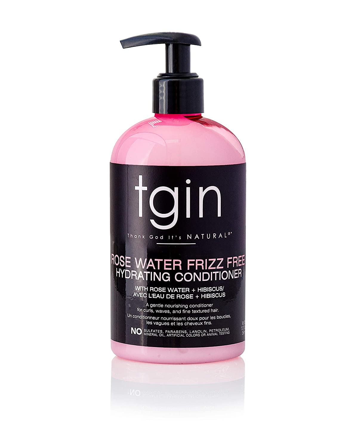 tgin Max 56% OFF Rose Water Frizz-Free Hydrating - security Curls for Conditioner Wav