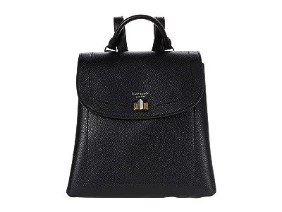 Kate Spade New York Essential Medium Backpack (Black) Backpack Bags