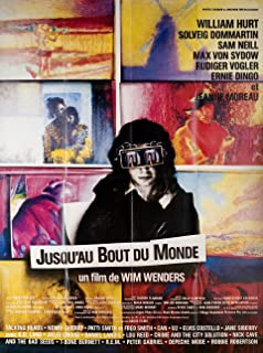Until the End of the World 1991 French Grande Poster