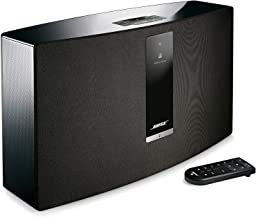 Bose SoundTouch 30 wireless speaker, Compatible with Alexa, Black - 738102-1100 (Renewed)