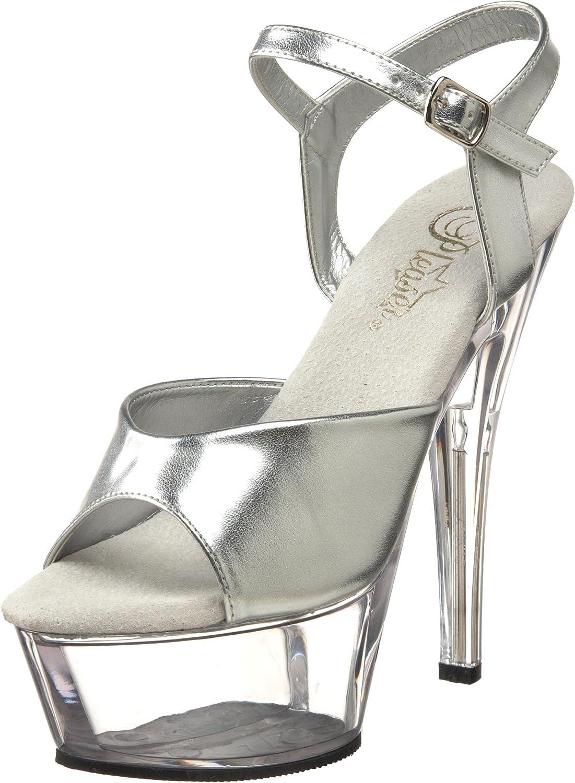 Pleaser Women's KISS-209 S C Platform Sandal