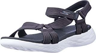 Skechers On-The-Go 600 - Brilliancy Women's Athletic & Outdoor Sandals, Black/White