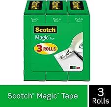 شريط سوتش ماجيك، 3/4 × 1296 بوصة، معلبة 3 Rolls