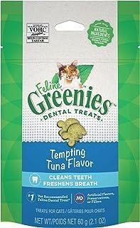 Greenies Feline Dental Cat Treat Tuna Flavour 60G Bag, One Size