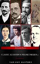 Classic Authors Super Set Series: 2 (Shandon Press): J. M. Barrie, L. Frank Baum, James Allen, The Brontë Sisters, Jack Lo...