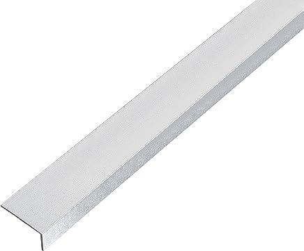 1000 x 23,5 x 23,5 mm blank GAH-Alberts 468842 Winkelprofil Riffel-Pr/ägung Aluminium