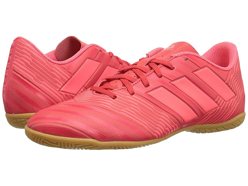 adidas Nemeziz Tango 17.4 Indoor (Real Coral/Red Zest/Black) Men's Soccer Shoes