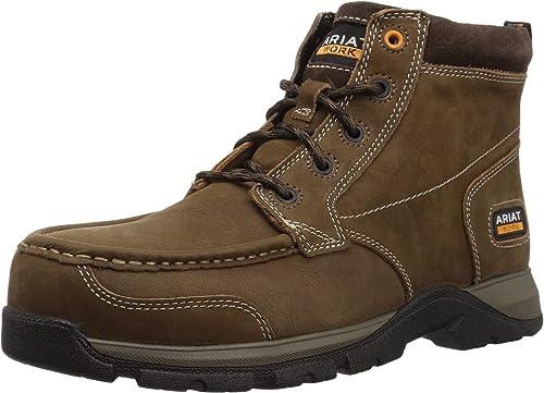 Ariat - Chaussures de Travail décontractées Edge LTE Chukka Comp Toe Hommes, 47 W EU, Dark marron