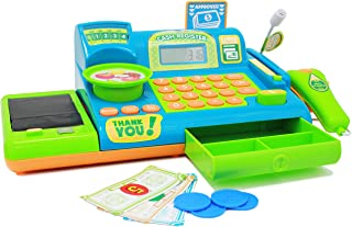Boley Kids Toy Cash Register – Pretend Play Educational Toy Cash Register With..