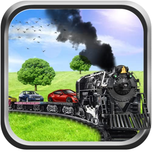 Cargo Train Car Transporter Simulator 3D - Real Railway Train Driving 2018 Transport Fast Racing Furious Cars Railroad Driving Parking Adventure Simulation Mission Games Free For Kids 2018