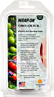 Wrap-On 51006 6' GRO-QUICK Soil Warming Cable 21 Watts 0.18 AMPS