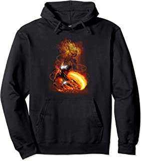 Ghost Rider Fire Fury Graphic Hoodie