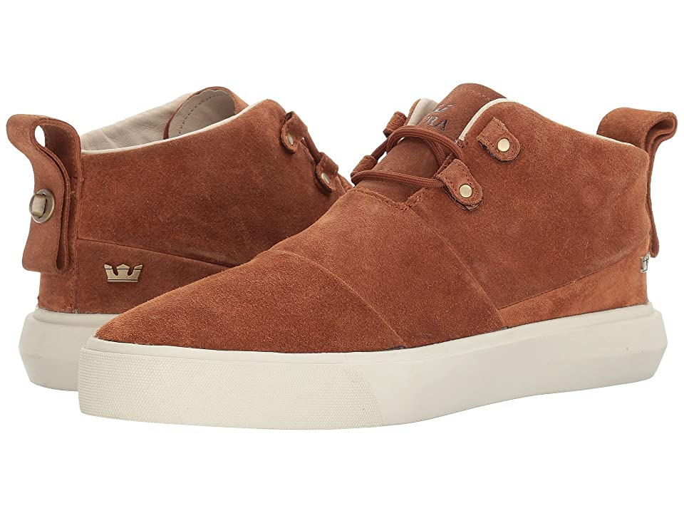 Supra Charles (Brown/Bone White) Men