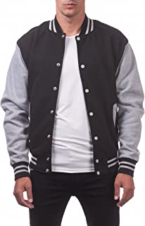 Men's Varsity Fleece Baseball Jacket
