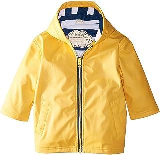 [ハットレイ] Hatley Kids ボーイズ Yellow with Navy Stripe Lining Splash Jacket (Toddler/Little Kids/Big Kids) ジャケット [並行輸入品]