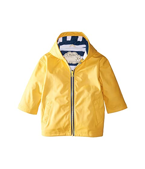 4a7ae55f7 Hatley Kids Yellow with Navy Stripe Lining Splash Jacket (Toddler ...