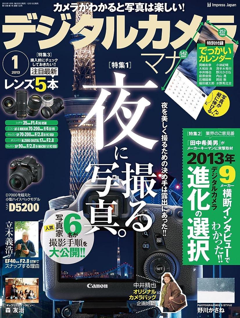 混乱した宿泊施設地獄デジタルカメラマガジン 2013年1月号[雑誌]