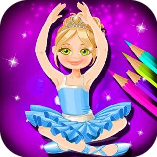 Ballerina Coloring Book