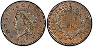 1817 Coronet Head Large Cent 1¢ Circulated