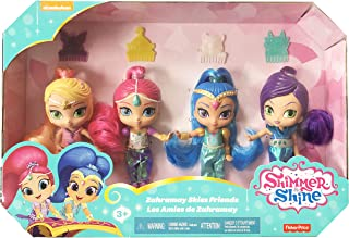 Fisher-Price Shimmer y Shine 4 Muñecas con Shimmer, Shine,