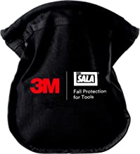 3M DBI-SALA Fall Protection For Tools,1500119,Small Parts Pouch Makes It Nearly Impossible For Objects To Fall Out,No Opening/Closing Necessary, Canvas Black