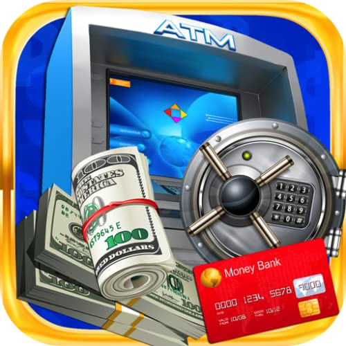 Bank Teller & ATM Bank Simulator - Cash Machine, Cash Register, and Banking Teller Kids Games FREE
