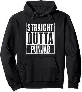 Straight Outta Punjab Hoodie Pullover Sweatshirt