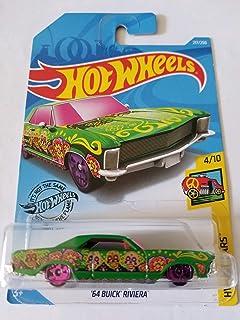 Hot Wheels 2019 Hw Art Cars - '64 Buick Riviera, Green 217/250