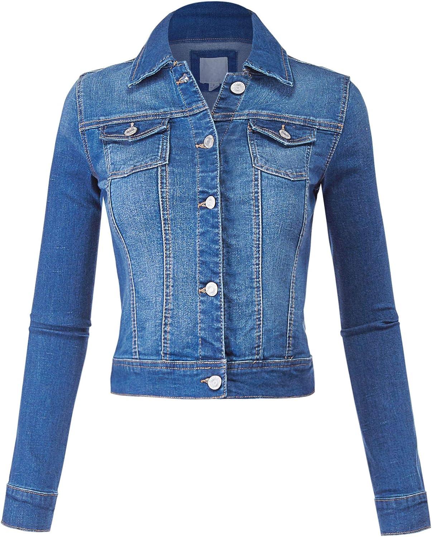 FashionMille Bombing new work Women Classic Casual Stretch Denim Fit Jacket Phoenix Mall Jean
