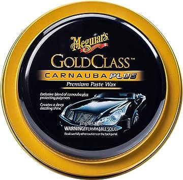 Meguiar's Gold Class Carnauba Plus Premium Paste Wax – Creates a Deep Dazzling Shine – G7014J, 11 oz: image