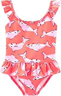 shark print swimsuit