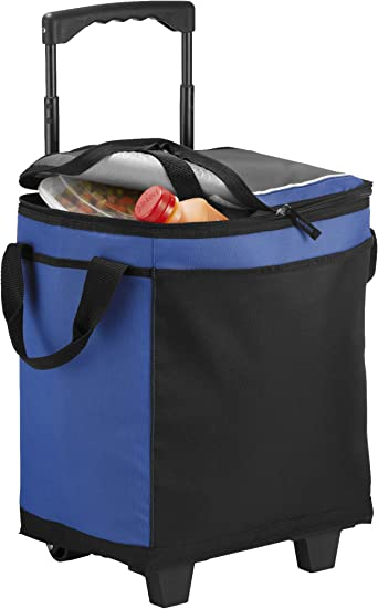 California Innovations 32 Can Rolling Cooler Clothing Amazon Com