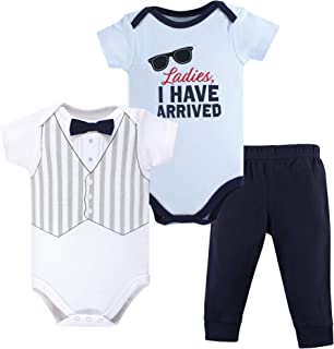 Bottoms and Shoes 3M Surf Car 3-Piece Set 0-3 Months Hudson Baby Unisex Baby Bodysuit