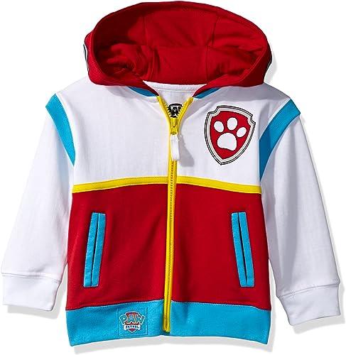 Nickelodeon Toddler Boys Paw Patrol Ryder Costume Hoodie, Multi