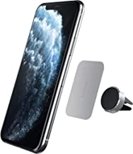 Satechi Air Vent Magnetic Aluminum Car Mount Holder - Compatible with iPhone 11 Plus Max/11 Plus/11, XS Max/XS/XR/X, Samsung Galaxy S10 Plus/S10, Nexus 5X/6P (Silver)