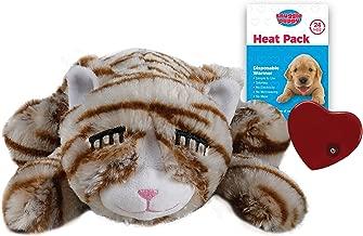 stuffed cat with heartbeat