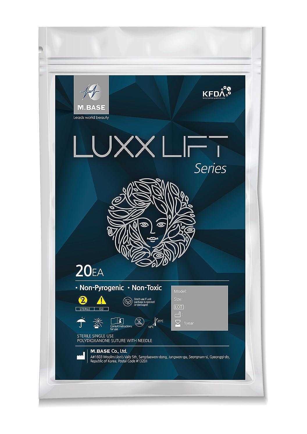 失業者理容室階Luxx CL PDO Thread/Blunt L-Type/Cog Type/Face Lifting/ 20Pcs/Korea Mad (21G90mm)