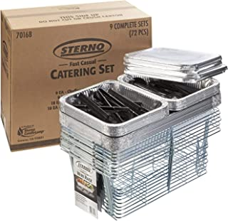 Sterno 70168 Fast Casual Catering Set (Pack of 72) (Renewed)