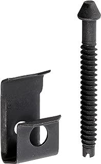 Elkay LK363 Metal 14 Extra Long Screws and Clips , Black