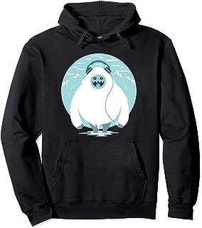 Geek Yeti Lover Gifts Yeti Snowman Sasquatch Pullover Hoodie