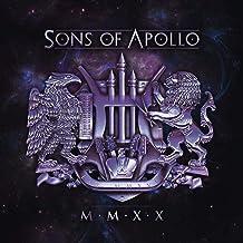 Sons of Apollo 'MMXX' DOUBLE Gatefold Clear Transparent Sleeve LP Light Blue Vinyl